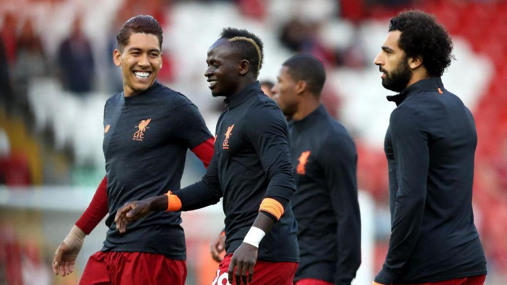 Klopp Siapkan Kuartet Firmino-Mane-Salah-Coutinho