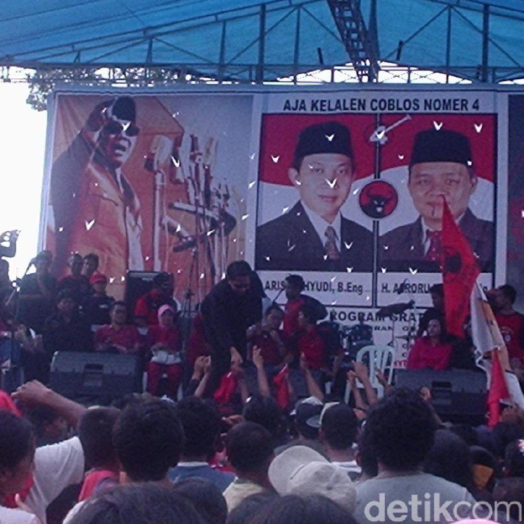 Maju Pilbup Banyumas 2008, Perolehan Suara Bos nikahsirri.com Jeblok