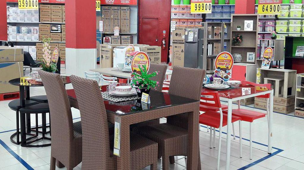 Promo Furnitur Transmart Carrefour, Meja Makan Diskon Rp 1,5 Juta