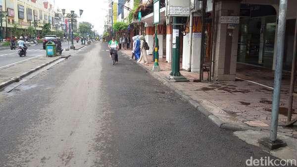 Video Saat Ribuan PKL di Jalanan Malioboro Yogya Raib