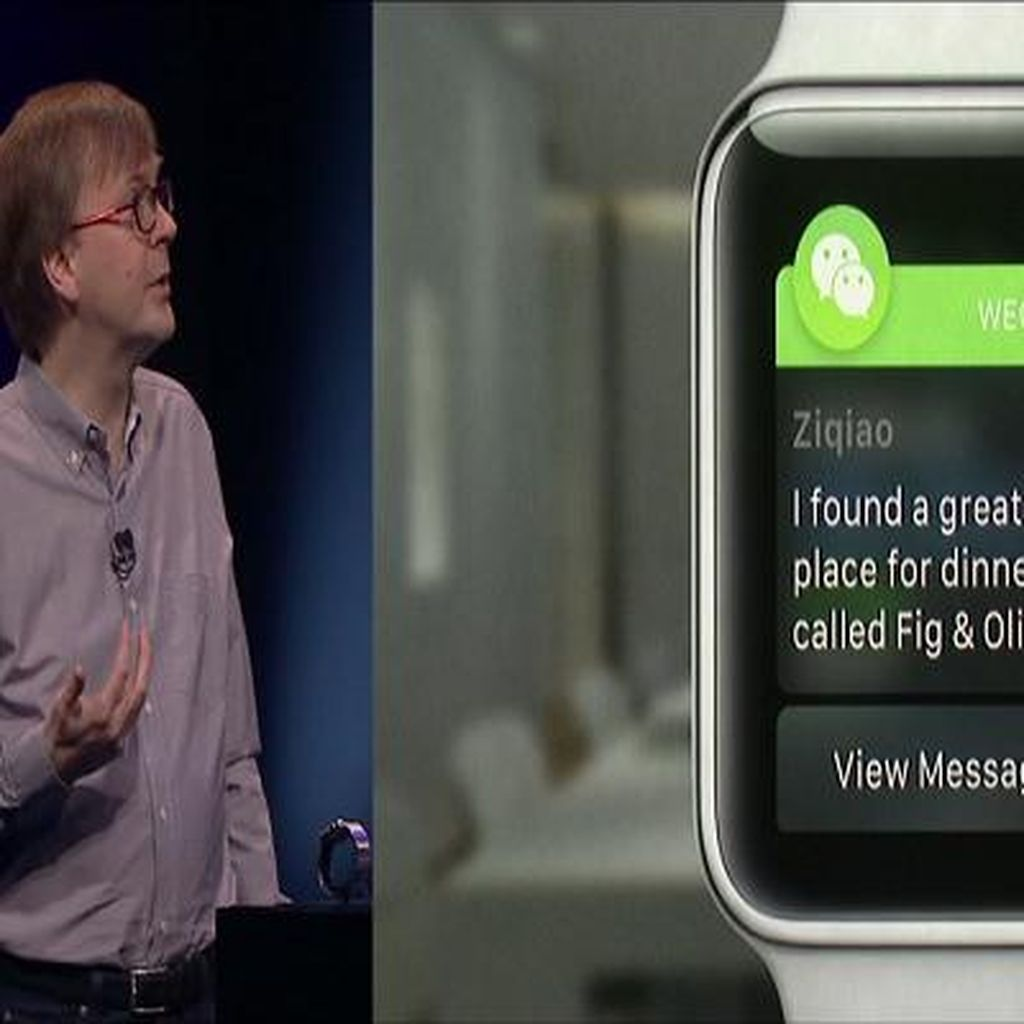 Apple Pilih Promosikan WeChat Ketimbang WhatsApp