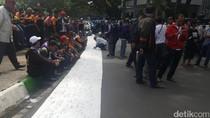 Ribuan Sopir Angkot di Malang Demo Tolak Transportasi Online