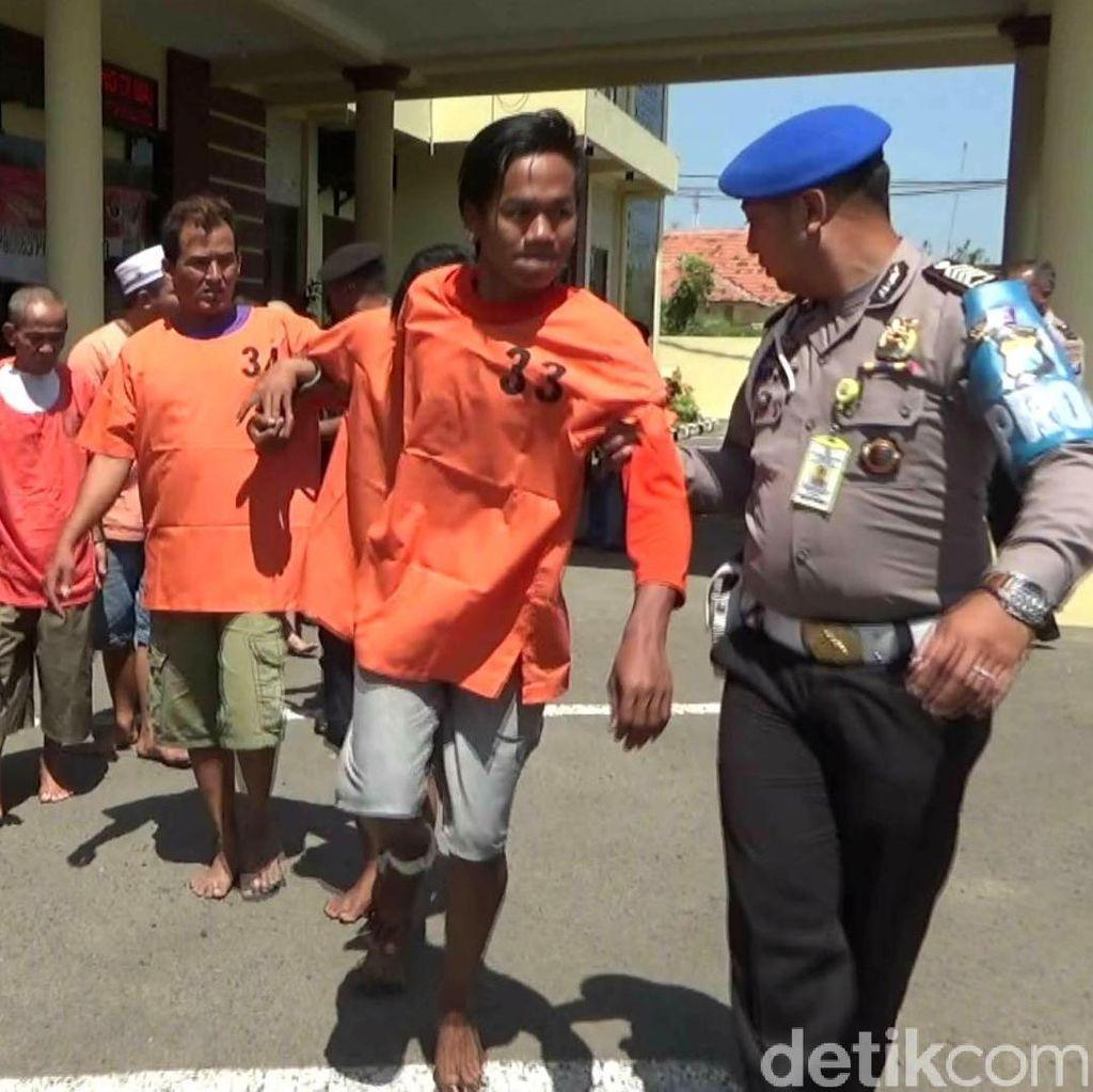Belasan Pencuri Diamankan, Dua Orang Dihadiahi Timah Panas