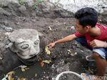Disebut Mirip Badut It, Ini Patung di Klaten yang Bikin Heboh