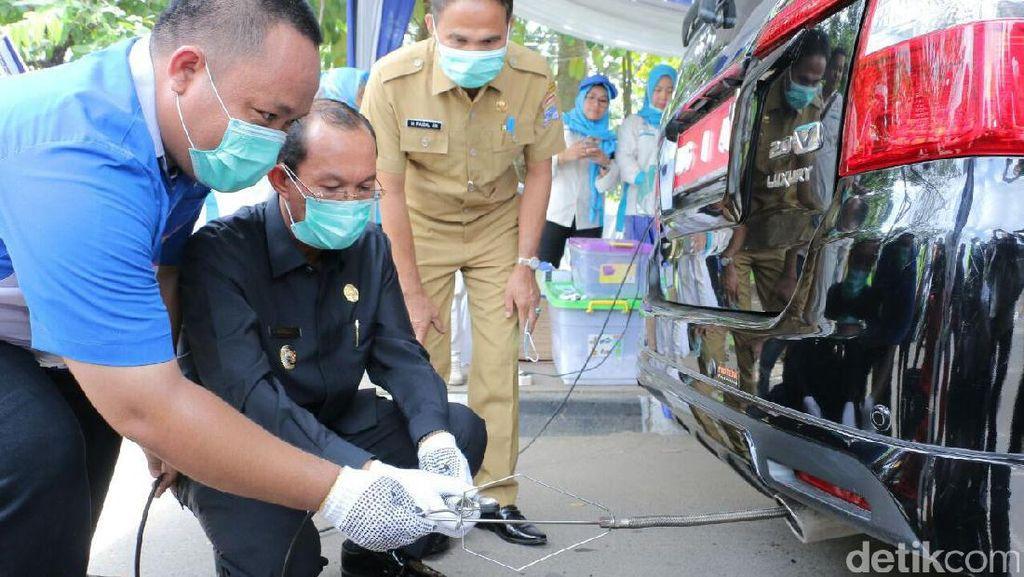 Pemkot Palembang Adakan Uji Emisi Kendaraan Gratis