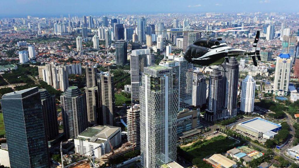 Enggak Pakai Macet, Keliling Jakarta & Bandung Naik Helikopter
