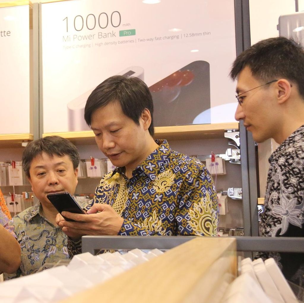 Terbang dari China, Pendiri Xiaomi Mampir di Bekasi