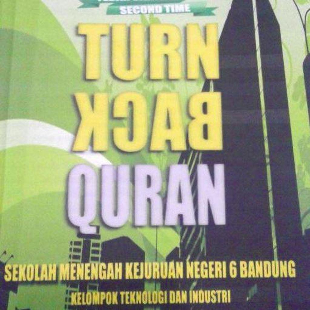 SMKN 6 Bandung Minta Maaf dan Jelaskan soal Turn Back Quran
