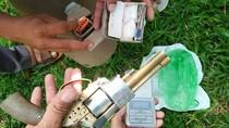 Polres Aceh Utara Temukan Pabrik Pembuatan Senjata