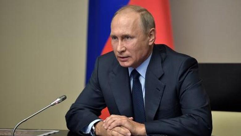 Telegram Putin ke Tragedi Las - Las Vegas Presiden Rusia Vladimir Putin ikut berbelasungkawa terhadap penembakan brutal di Las Amerika Putin mengirimkan telegram kepada