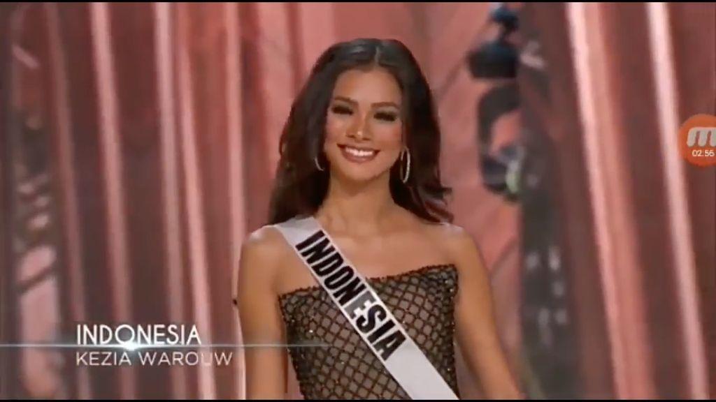 Puteri Indonesia Kezia Warouw Masuk 13 Besar Miss Universe 2016