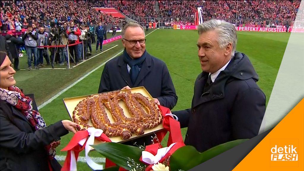 Kado Spesial Bayern untuk Laga Ke-1000 Ancelotti