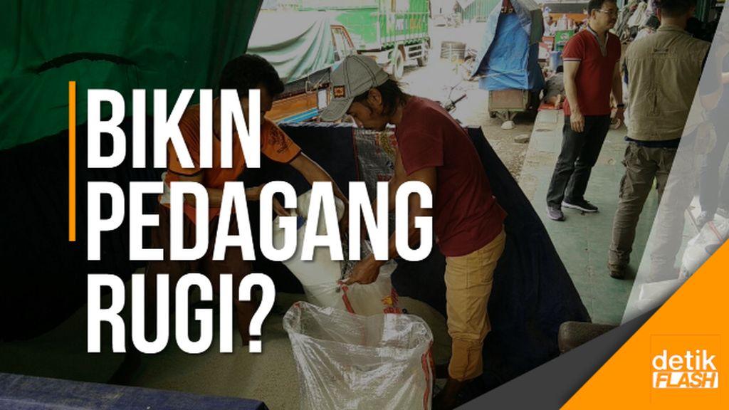 Harga Beras Premium dan Medium Dipukul Rata, Pedagang Resah