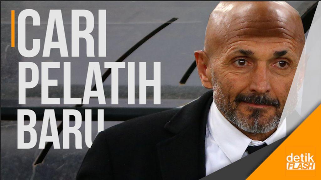 Perpisahan AS Roma dengan Spalletti