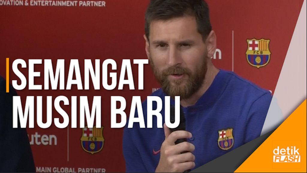 Messi Antusias Sambut Pelatih Baru Barca