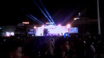 Wow! Ribuan Pengunjung Padati Puncak Acara Biznet Festival