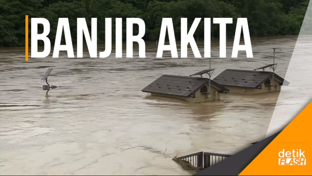 25 Ribu Warga Jepang Dievakuasi Akibat Banjir