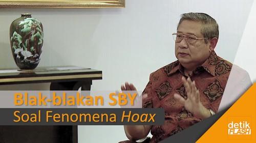 Blak-blakan SBY Hantam Hoax