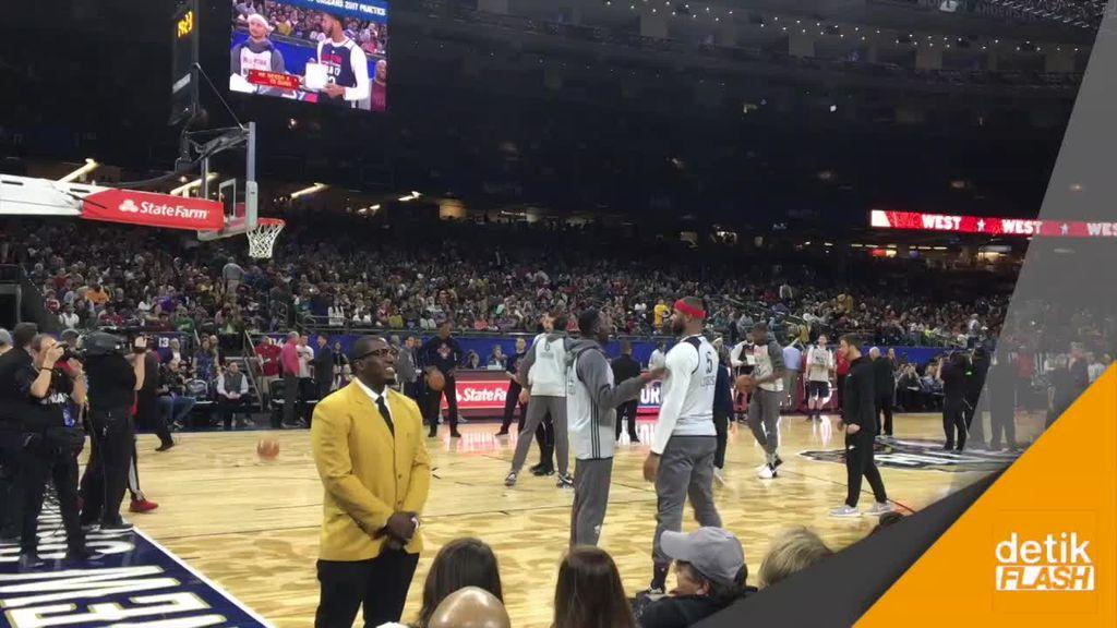 Serunya Melihat Bintang NBA Berlatih Jelang All-Star Game
