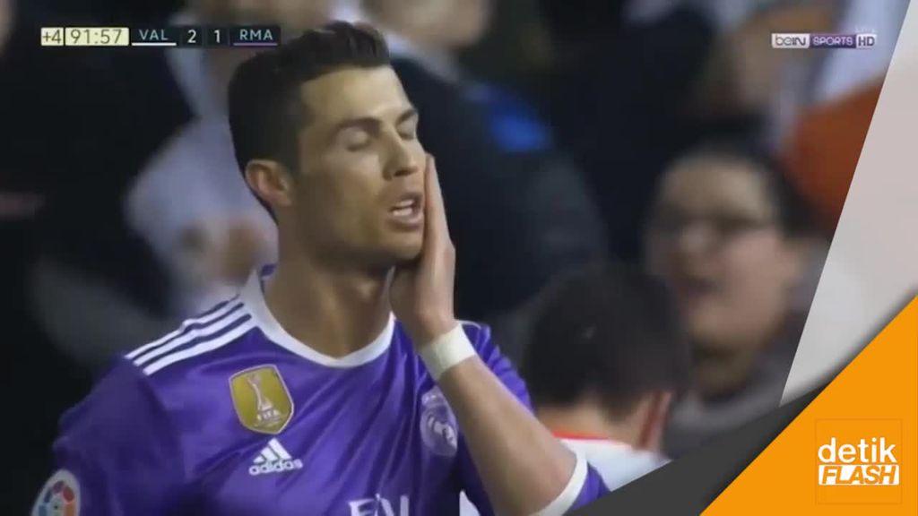 Real Madrid Tumbang di Markas Valencia