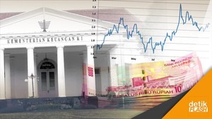 Utang Indonesia Tembus Rp 3.549 Triliun