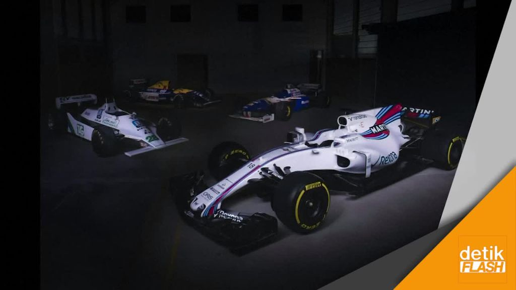 Ini Nih Mobil Tim Williams untuk F1 2017