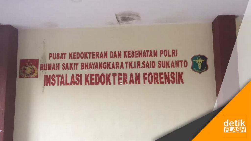 Jasad Pelaku Bom Panci Tiba di RS Polri