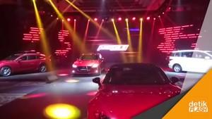 Eurokars Luncurkan 5 Mazda Sekaligus di Indonesia