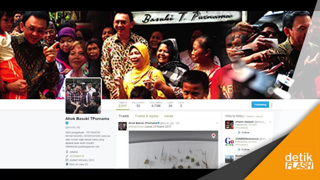 Gencar Kampanye di Medsos, Ahok: Iklan TV Mahal