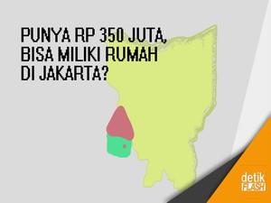Punya Rp 350 Juta, Bisa Miliki Rumah di Jakarta?