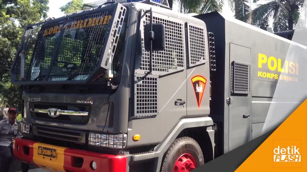 Intip Kendaraan Taktis Baru Polisi di Sidang Ahok, Yuk!