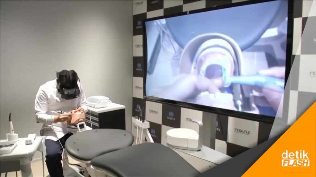 Di Jepang, Teknologi Virtual Dimanfaatkan untuk Kedokteran Gigi