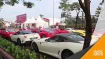 Seratusan Kuda Jingkrak Berpacu di Ferrari Festival of Speed