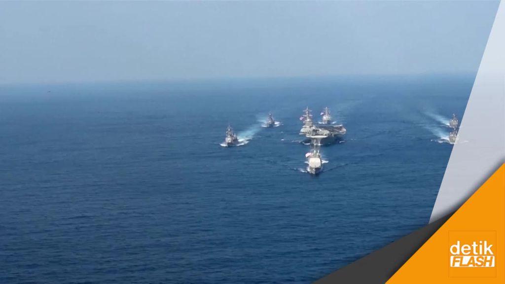 Giliran Kapal Induk AS Menuju Perairan Korea