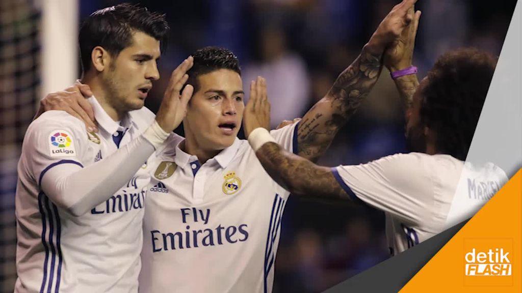 Pemain Lapis Kedua Madrid Unjuk Gigi