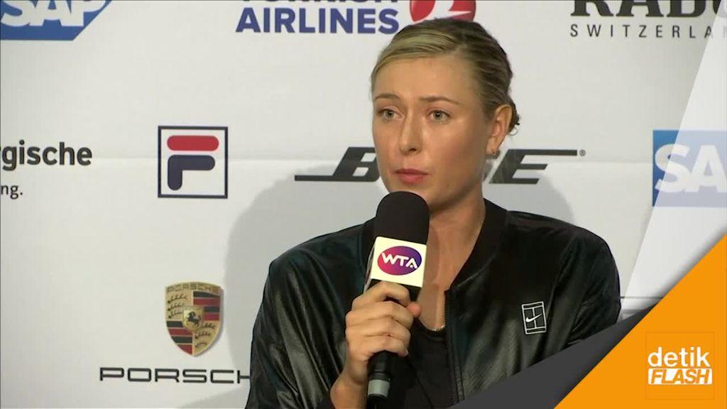 Sharapova Tepis Kritik Usai Comeback