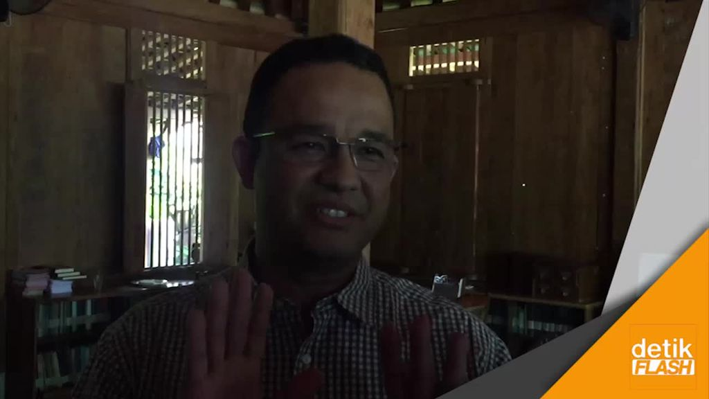 Bunga OKE OCE Rusak, Anies: No Comment, Biar Nggak Tambah Panas