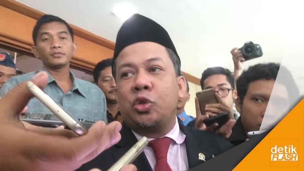 Fahri Ketuk Palu Hak Angket, Gerindra: Dia Langsung Ambil Putusan (Sepihak)