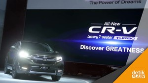 Sambutlah, Generasi Kelima All New Honda CR-V Turbo