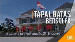 Mengintip Pos Perbatasan RI-Papua Nugini