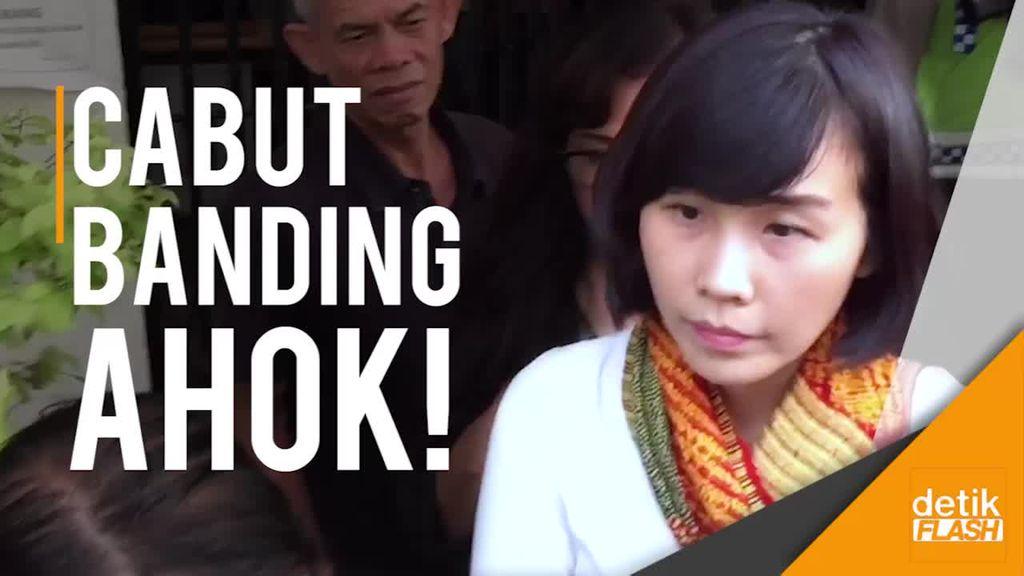 Veronica Tan Cabut Permohonan Banding Ahok!