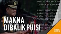 Heboh Panglima TNI Baca Puisi Denny JA, Ini Kata Kapuspen