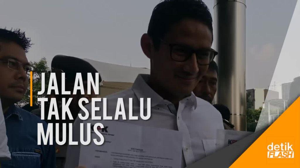 Terbelit 2 Kasus Dugaan Korupsi, Sandi Diperiksa KPK