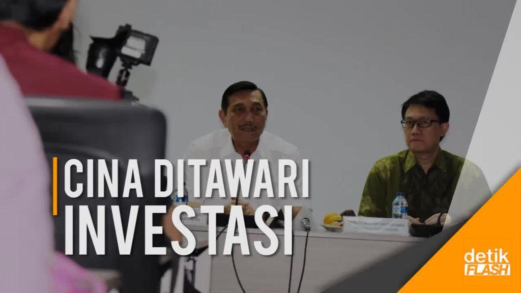 Tiongkok Ditawarkan Berinvestasi di Indonesia