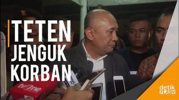 Kepala Staf Kepresidenan Jenguk Korban Bom Kampung Melayu