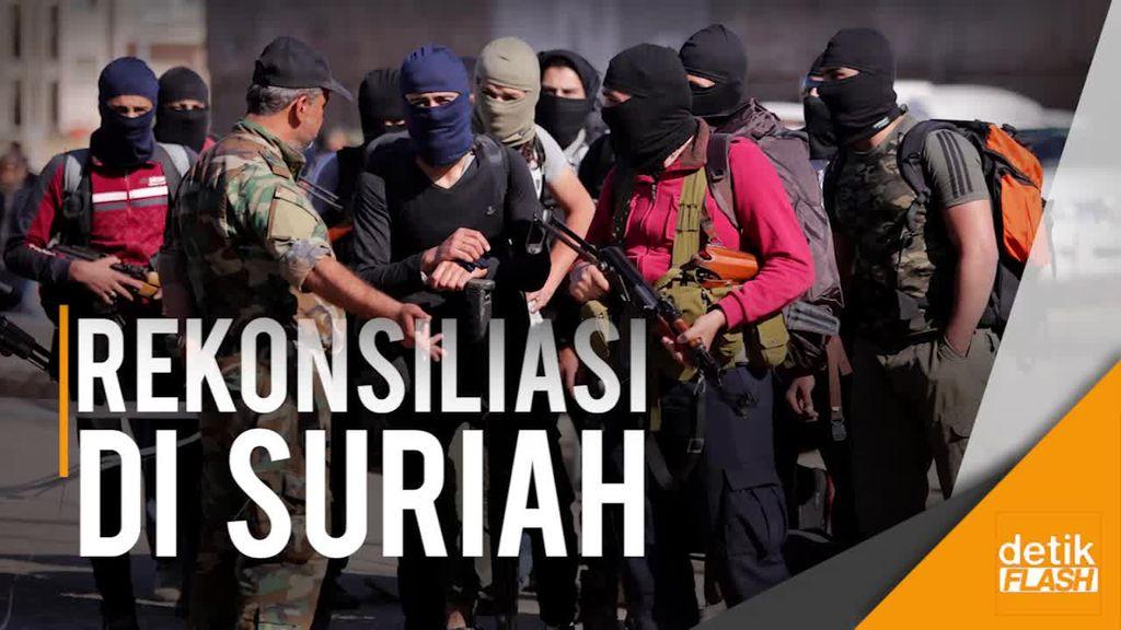 Kelompok Anti-pemerintah Suriah Mundur