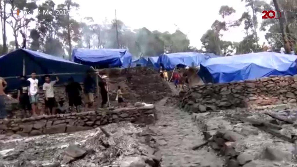 Melihat Kondisi Terkini Pascas Kebakaran Satu Kampung Baduy