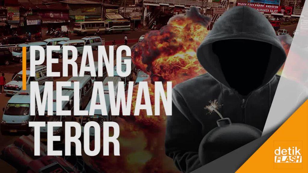 Jokowi Pun Nyatakan Perang Melawan Terorisme