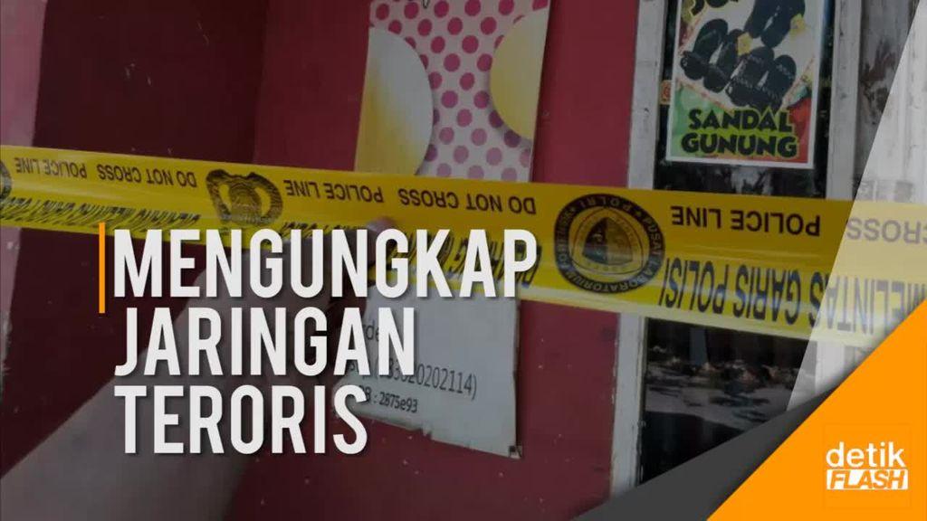 Rumah Terduga Teroris A di Kabupaten Bandung