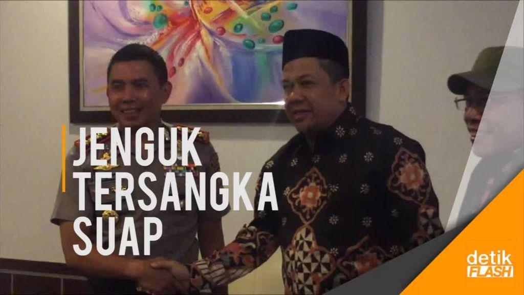 Fahri Hamzah Jenguk Auditor BPK yang Ditahan KPK